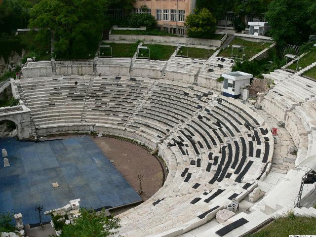 Théâtre antique – Plovdiv