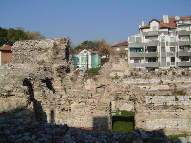 Les thermes romaines